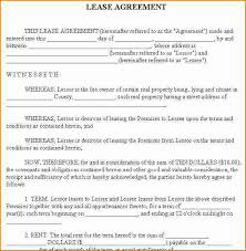 lease contract template 7 rent contract template printable receipt