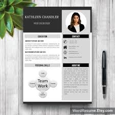 Resume CV Cover Letter  resume template resume template download     Professional Resume  Modern Resume  Professional Resume Template Word   CV  Professional  CV Modern