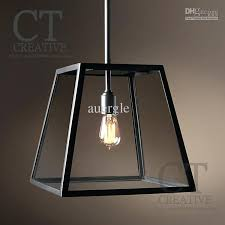 pendant cage light wrought iron glass pendant light brief old furniture inside black designs 1 cage pendant light plug in
