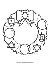 Hanukkah Coloring Pages Printable Coloring Ebook Primarygames