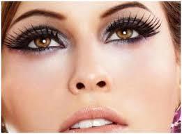 eye makeup tips for big eyes false lashes