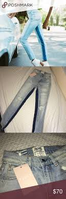 Nwt Rare Revice Denim High Waisted Jeans Size 25 A Rare And