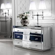 Image of: Perfect Mirrored Chest Of Drawers