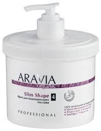 Купить Aravia <b>крем</b> Organic Slim <b>Shape</b> 550 мл по низкой цене с ...