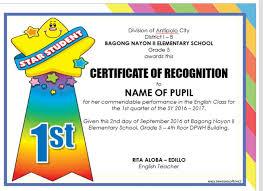 Certificate Template For Kids Condo Financials Com