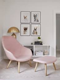 Pink Bedroom Chair Living Room Rose Quartz Sofa Pretty Spaces Pinterest