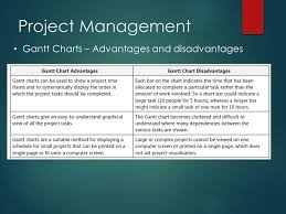 Advantages And Disadvantages Of Gantt Chart 07 Project Management Software Ppt Download