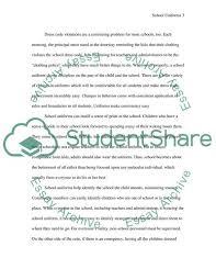 argumentive essay proposition public school students should be   text preview