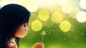 Hd Wallpapers Cute Girl Cartoon Pic ...