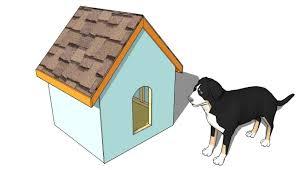 Large Dog House Plans   MyOutdoorPlans   Free Woodworking Plans    Simple Dog House Plans