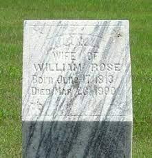 Lucinda Hickman Rose (1813-1900) - Find A Grave Memorial