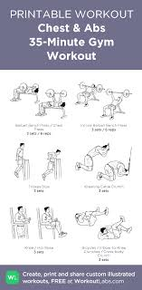 77 Bright Gym Workout Chart Hd Images Pdf