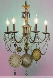 steampunk chandelier