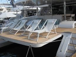 yacht sun lounger adjule nausicaa relax valdenassi