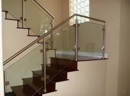 glass stair railing systems