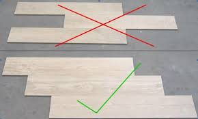 Wood Tile Floor Patterns Impressive When Installing Wood Grain Tiles Stagger Them Like Wood Planks