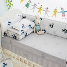 rocking horse baby bedding crib set