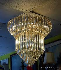 italian cut crystal chandelier