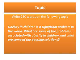 problem solution essay part ppt video online  write 250 words on the following topic