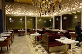 GVK Lounge first class dining area Mumbai Airport