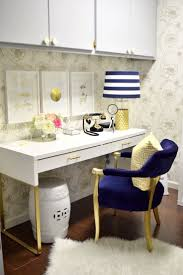 fancy home office office spaces office. lizbeth carrillou0027s fancy home office with a touch of vintage gold tour spaces o