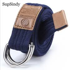 2018 New Arrival Mens Canvas Belt Alloy Buckle Belt Army Tactical Belts For Male Top Quality Men Strap Black Red 115cm Bridal Belts Belt Size Chart