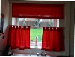 attachment image alt beautiful red kitchen curtains