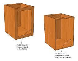 inset cabinet door stops. frameless or face-frame cabinets? inset cabinet door stops