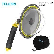 TELESIN 6-inch Dome Port GoPro Hero 9 - 30M Waterproof - GP-DMP-T09 |  DINOMARKET | Gadget & Electronic Premium Marketplace