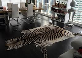 home interior special zebra cowhide rug edelman leather design within reach from zebra cowhide rug