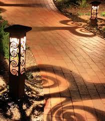 garden lighting bollards. Decorative Steel Bollard Lights Contemporary Outdoor Lighting Concrete Bollards Garden