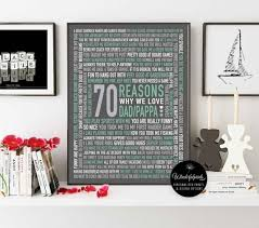 70 reasons we love dad 70th birthday gift for him for dad digital file