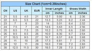 Faithful Shoe Size Chart China Us Size Chart For Shoes Uk