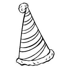 m1nmxkd hat coloring pages getcoloringpages com on party hat coloring page