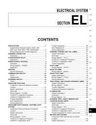 2002 nissan pathfinder electrical system (section el) pdf manual 2002 nissan pathfinder wiring diagram 2002 nissan pathfinder electrical system (section el) (478 pages)
