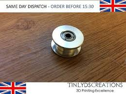 GT2 <b>20</b> T 3mm Bore Idler Pulley Toothless
