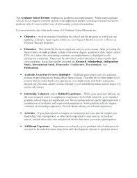 resume for graduate school examples sample grad school resume resume for graduate school admission