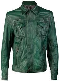 rus brand leather jacket