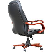modern wood office chair. Indoor Chairs, Black Leather Office Chair Modern Wood Non Wheeled Desk