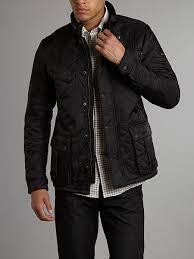 Barbour Mens Ariel International Quilted Jacket Black - Best ... & Barbour International Jackets Mens Quilted Adamdwight.com