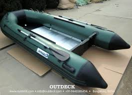 inflatable boat with aluminum floor
