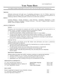 ... Peachy Military Resume Examples 9 Military Resume Examples Infantry  Format 2017 ...