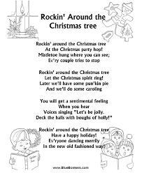 BlueBonkers Rockin Around The Christmas Tree Free Printable Rock In Around The Christmas Tree