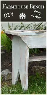simple diy farmhouse bench tutorial with storage