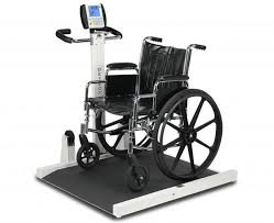 wheel chair scale. 6550 Folding Portable Wheelchair Scales, Bariatric Plus Size Weighing Heavy Duty Heavier User Hospital Wheel Chair Scale