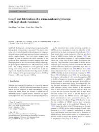 Microsystem Design Senturia Pdf Pdf Design And Fabrication Of A Micromachined Gyroscope