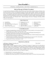 Therapist Resume Template Sample Pta Resumes Templates Zigy Co