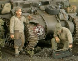 Tank Mechanic Details About Verlinden 1 35 Us Tank Mechanics With Tools Wwii 2 Figures Resin 2511
