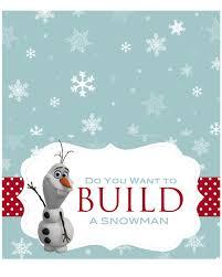 let s build a snowman kit printable printable