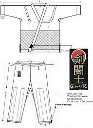 Proforce Gladiator Judo Uniform Black